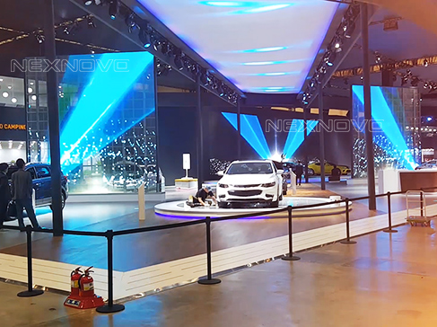 Transparent display screen for CHEVROLET in Korea
